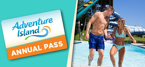 Buy an Adventure Island Annual Pass