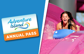 Browse Annual Pass options at Adventure Island Tampa Bay
